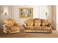 BM Style БМ Стиль: Принсипе-10: диван 3-х местный (ткань)