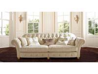 BM Style БМ Стиль: Элоиз Капитоне: диван 3-х местный (ткань)