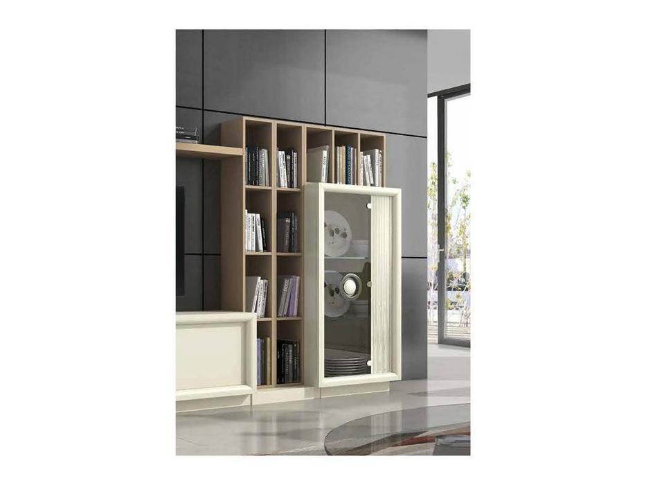 Monrabal Chirivella: Anabel: витрина 1 дверная  низкая правая (lacado lino)