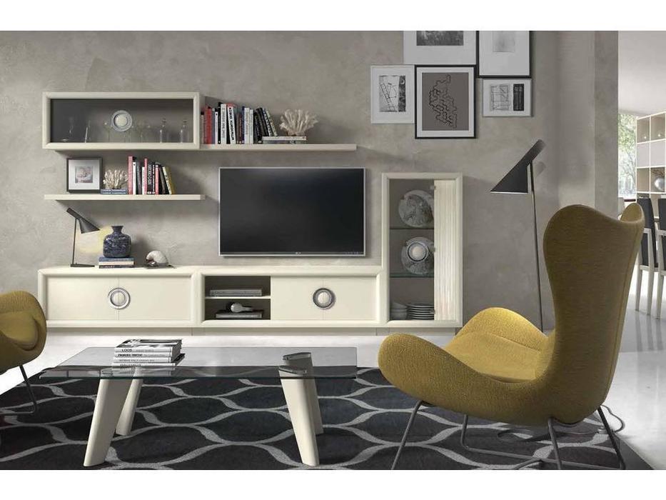 Monrabal Chirivella: Anabel: стол журнальный  (lacado lino)