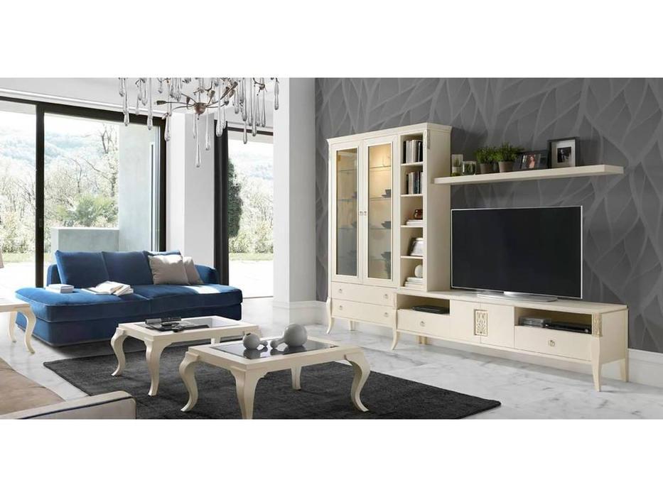 Monrabal Chirivella: Valeria: стенка в гостиную комп.3 (белый)