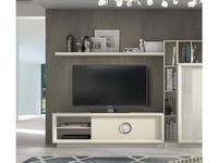 Monrabal Chirivella: Anabel: тумба под телевизор  (lacado lino)