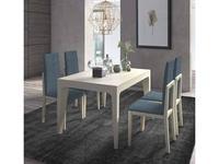 Monrabal Chirivella: Anabel: стол обеденный 160см раскладной  (lacado lino)
