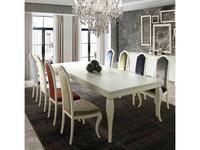 Monrabal Chirivella: Valeria: стол обеденный (белый)