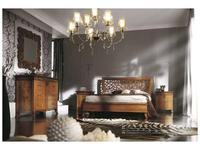 Francesco Pasi: New Deco: кровать 160х200 Деко  (Laccato bianco)