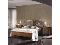 Francesco Pasi: New Deco: кровать 180х200 Деко с резьбой  (вишня)