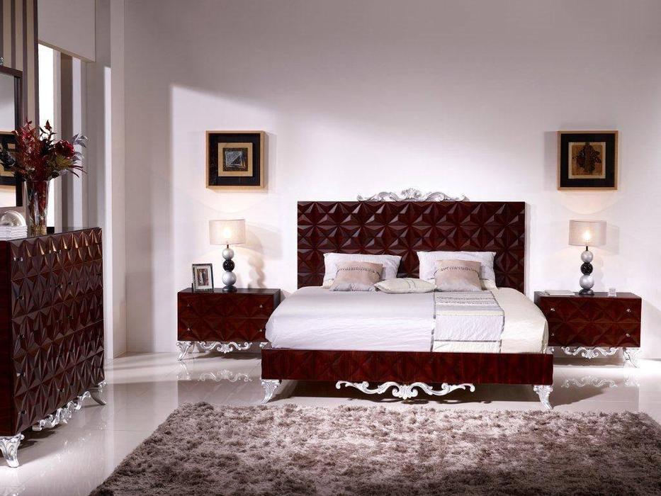 Antonio Loureiro Mendes ALM: Scorpius: кровать  180х200 (красное дерево)