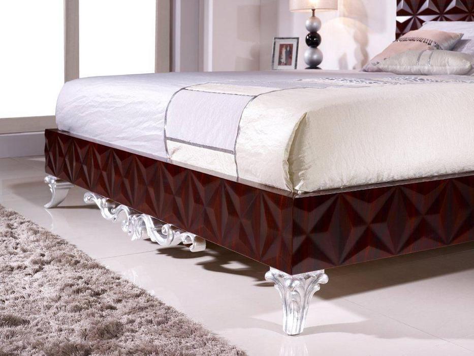 Antonio Loureiro Mendes ALM: Scorpius: кровать  160х200 (красное дерево)
