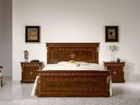 Antonio Loureiro Mendes ALM: Lux: кровать  180х200 (инкрустация)