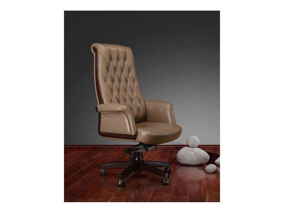 Inter: Inter: кресло руководителя  (орех, кожа)