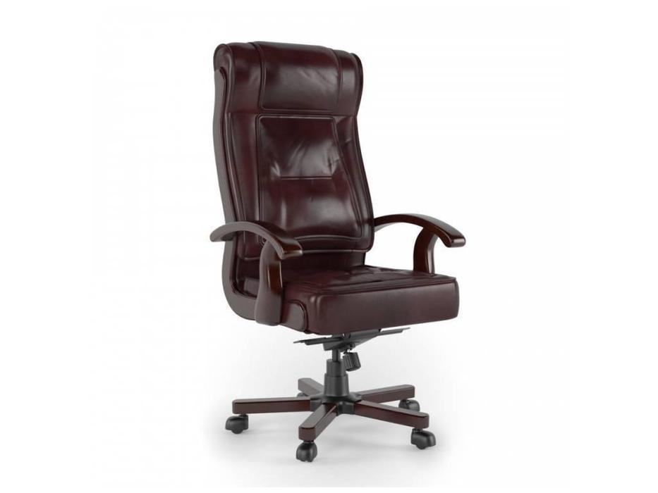 Inter: Донателло: кресло вращающееся  (вишня, экокожа)