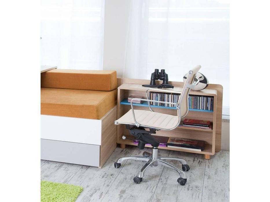 Vox: Evolve: шкаф библиотечный к дивану (дуб/черный)