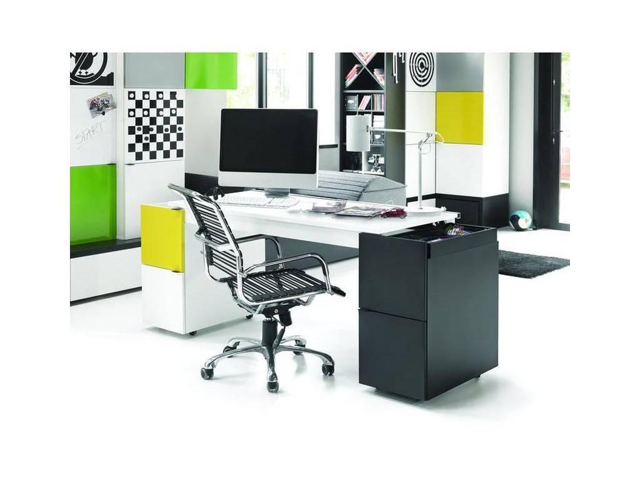 Vox: Young Users: стол письменный трансформер (белый/чёрный)