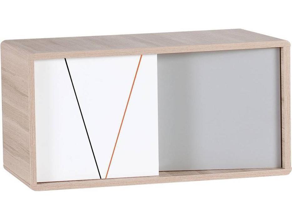 Vox: Evolve: антресоль  шкафа книжного (дуб, серый)