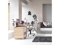 Vox: Evolve: стол письменный 140 (дуб/белый)