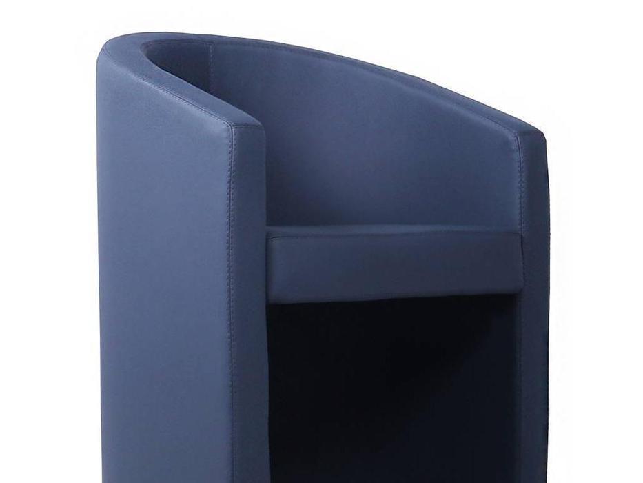 Евроформа: Форум: кресло на колесиках тк. Экокожа (синий)