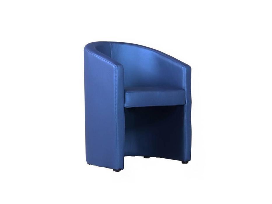 Евроформа: Форум: кресло тк. Экокожа (синий)