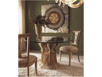 Zache Заче: Sara-21: стол обеденный Сара  (blanco oro)