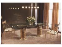 Zache Заче: Acropolis-36: стол обеденный Акрополь  (cuero)