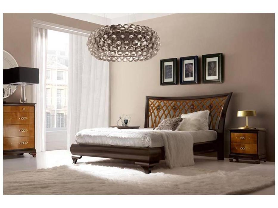 V. Villanova: Riva: кровать двуспальная  160х200 (черешня, мока)