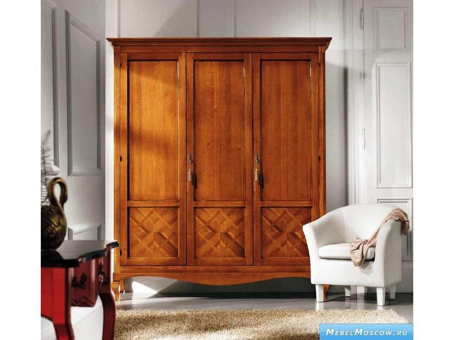 V. Villanova: Ломбардия: шкаф 3-х дверный  (черешня)