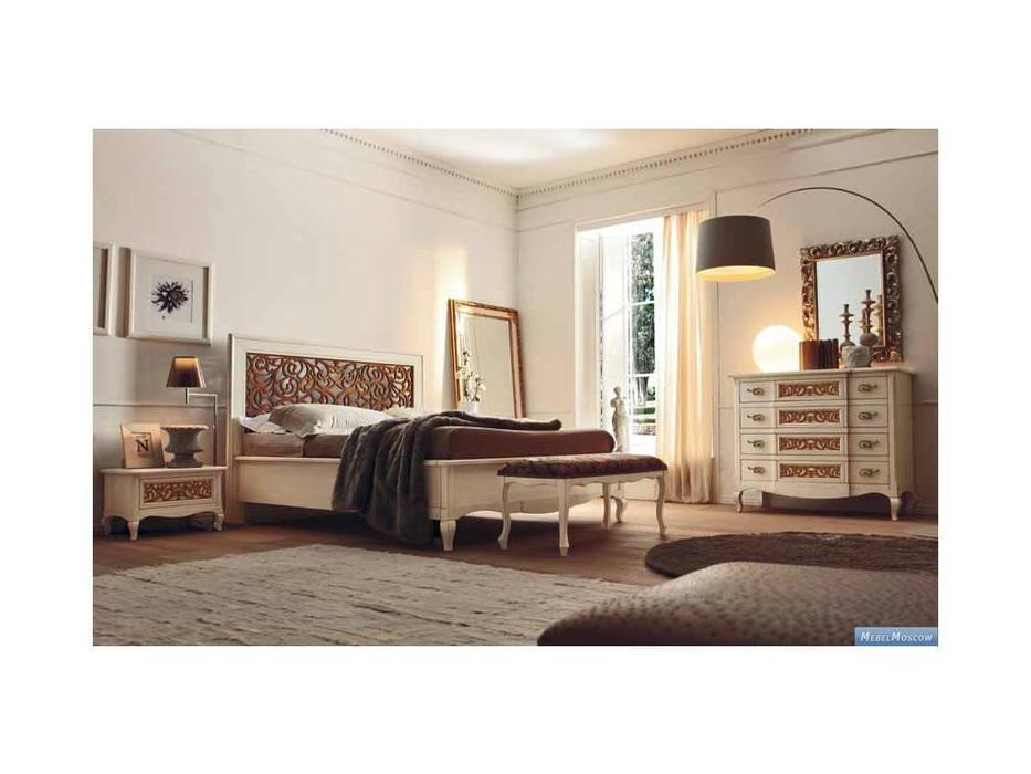 V. Villanova: Капри: спальная комната (Bicolore(Bianco +cilegio))