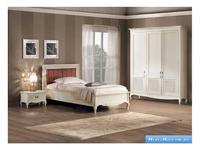 V. Villanova: Белла Донна: кровать двуспальная 120х200   (белый)