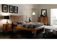 V. Villanova: Riva: кровать двуспальная 160х200  (черешня)