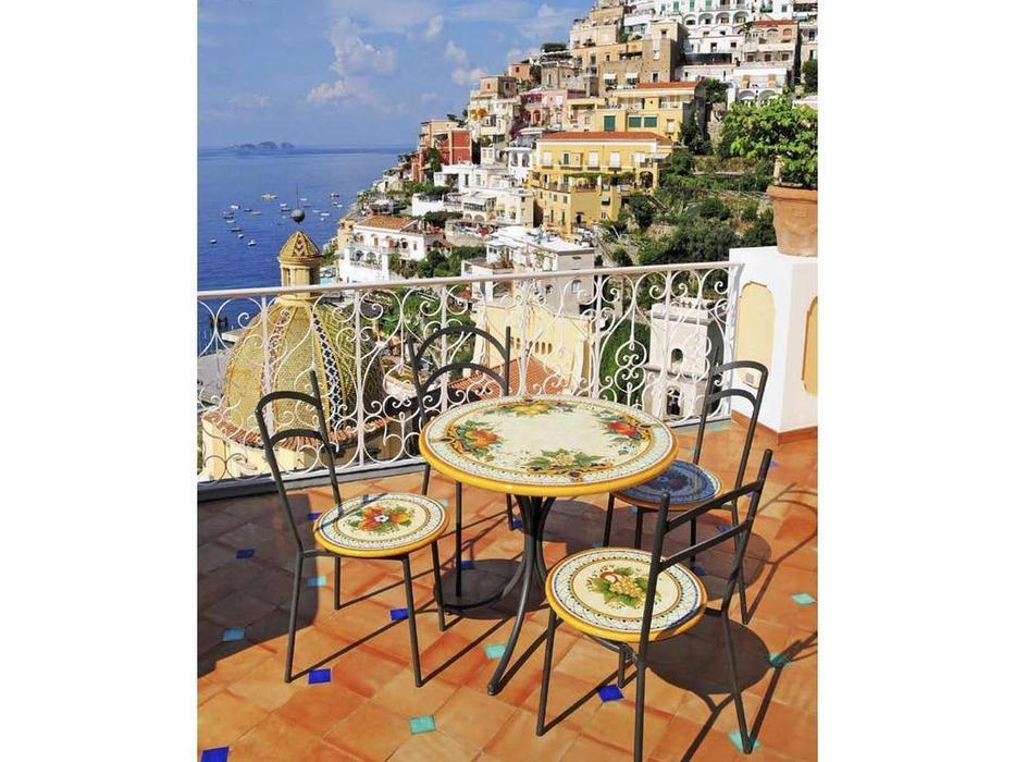 CeramicArte: Positano: стол обеденный круглый 100х100