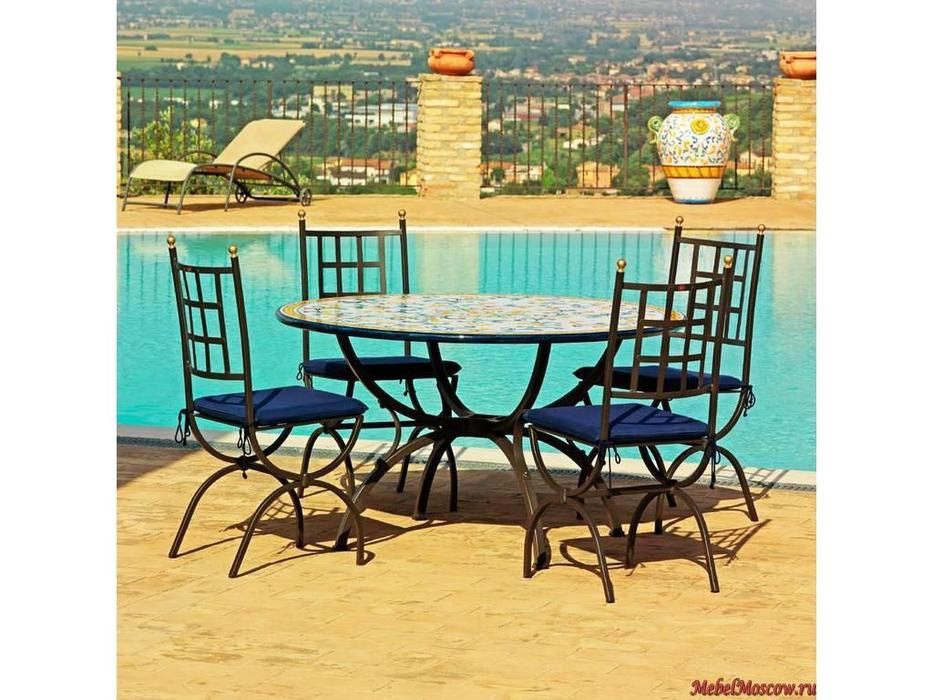 CeramicArte: Sangimignano: стол обеденный круглый 120х120