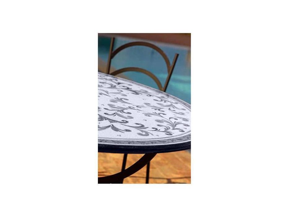 CeramicArte: Black&White: стол обеденный круглый 150 (разноцветные)