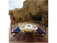 CeramicArte: Napoli: стол обеденный овальный 180х100