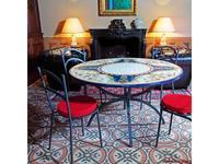 CeramicArte: Gubbio: стол обеденный круглый 110х110