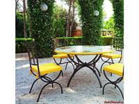 CeramicArte: Tropea: стол обеденный круглый 130х130