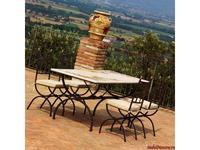 CeramicArte: Montefalco: стол обеденный прямоугольный 180х90