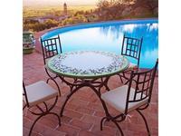 CeramicArte: Trevi: стол обеденный круглый 120х120