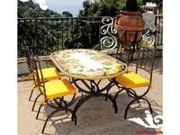 CeramicArte: Vietri: стол обеденный овальный 150х90