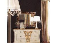 Gotha: Gold and Diamonds: зеркало с рамой  Картуш   (белый, золото)