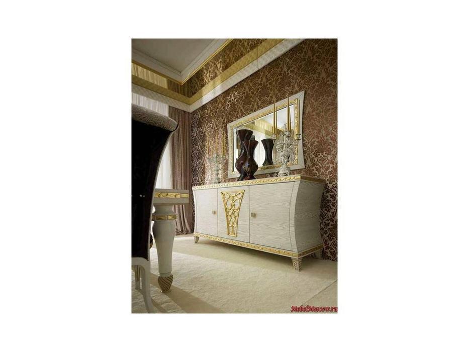 Gotha: Gold and Diamonds: зеркало Зала  (белый, золото)