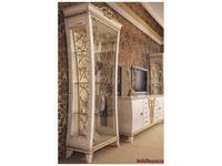 Gotha: Gold and Diamonds: витрина 1 дверная  (белый, золото)