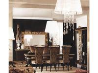 Gotha: Gold and Diamonds: стол обеденный раскладной прямоугольный  (венге, золото)