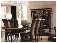 Gotha: Gold and Diamonds: стул мягкий  ткань (венге, золото)