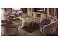 MobilPiu: Дукале: мягкая мебель комплект 3+1+1 кат. VIP (слоновая кость)
