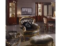 MobilPiu: Регина: кресло ткань кат. VIP (золото)