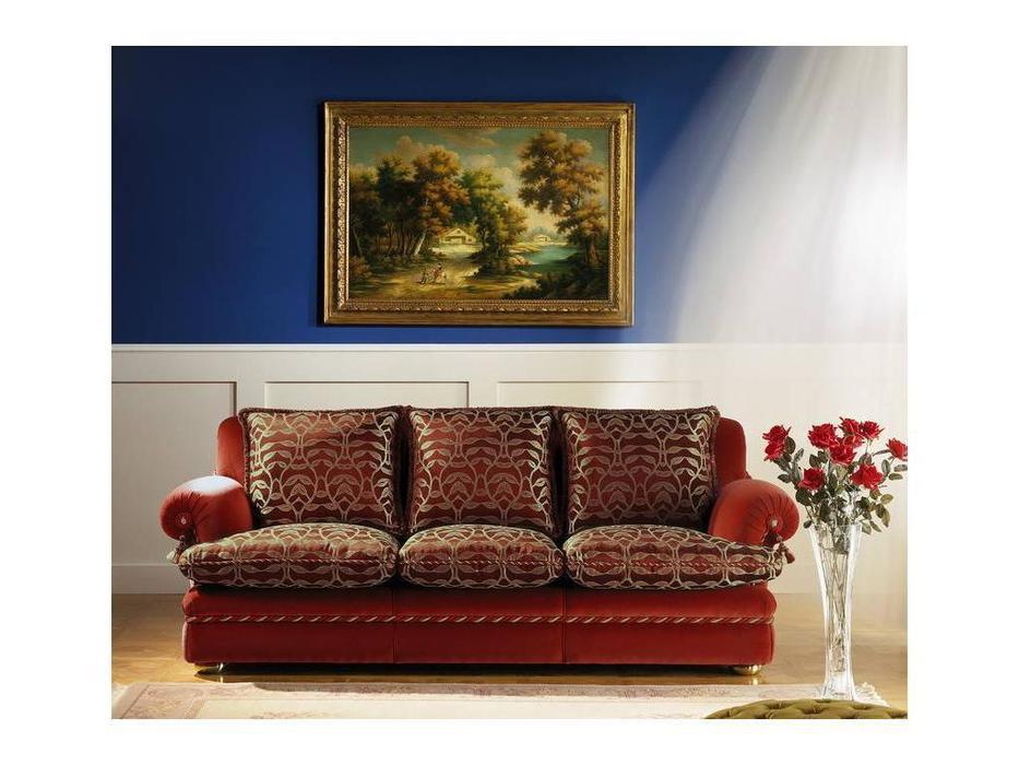 Zanaboni: диван 3-х местный_Sinfonia  ткань кат.1