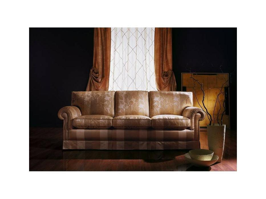 Zanaboni: America: диван 3-х местный  ткань кат.3