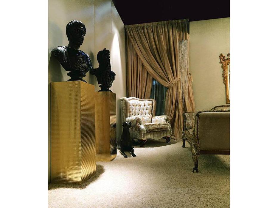 Zanaboni: Asia: кресло глубокое Bergere ткань кат.4