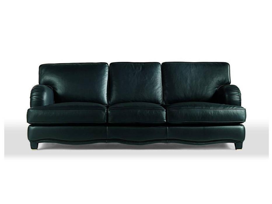 Zanaboni: диван 3-х местный Miro кожа кат.5