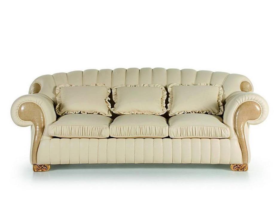 Zanaboni: Barone: диван 3-х местный кожа кат.G