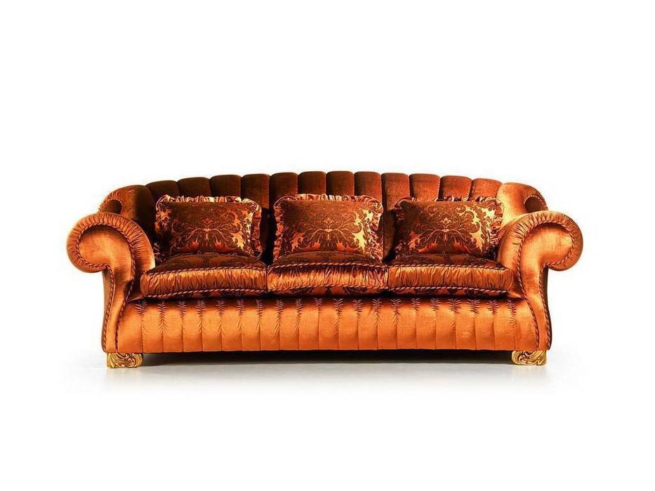 Zanaboni: Barone: диван 3-х местный ткань кат.3